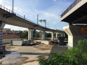 Baustelle S21 Perleberger Brücke